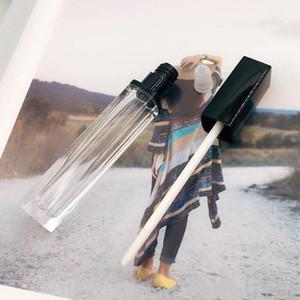 tubo gloss esvaziar 5mL Lustro composição recipiente recipiente óleo lábio quadrado tubos de plástico epacket