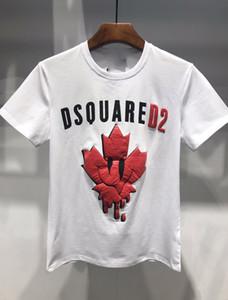 2019 Нового прибытие Высочайшего качества Medusa Brand дизайнер одежды Мужская мода футболка Печать Тис Размер M-3XL 668