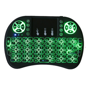 Mini i8 Keyboard backlit Backlight Remote Control For Android TV Box 2.4G Wireless Keyboard with Touch Pad for Smart TV PC