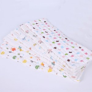 Baby 10-layer gauze cotton newborn cotton washable gauze breathable diaper printed diaper