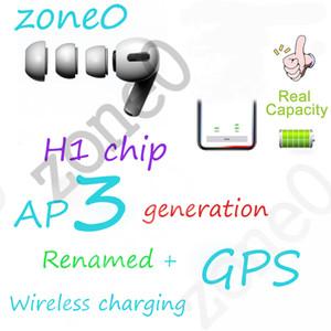 ricarica cuffie auricolari Bluetooth auto di sbucciatura wireless con sensore intelligente baccelli finestra pk pro circuito integrato W1 H1 AP3 i12 i7s i500 i200 auricolare