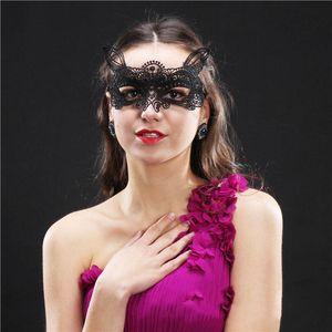 Patlayıcı dantel göz maskesi seksi masquerade maske parti özel gizemli göz maskesi