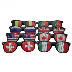 Кубок мира Творческого Mens Promotion очки женщины США Великобритания Франция Австралия Европейского флаг Очки для партии Национального дня