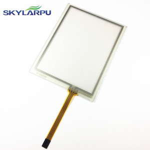 TouchScreen For Trimble TSC2 AMT98636 AMT 98636 Touch Screen Digizer Screen Sensors Front Lens Glass Replacement