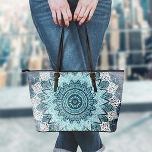 FORUDESIGNS Female Crossbody Bags Handbags Women Fashion Bohemia Mandala Style Pu Leather Ladies Tote Shoulder Bags Bolsa Mujer