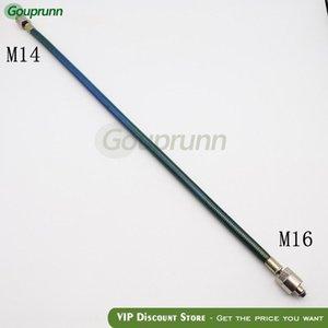 Высокого давления Дизельное труба 45см с M16 и M14 Гайки, Common Rail топливной трубки для Common Rail Test Bench