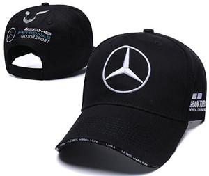 heißer Verkauf Mercedes Benz Kappe Knochen Gorras Hysteresenhut Champion Racing Sport AMG Automobile Trucker Männer Einstellbare Golf Kappe Sonnenhut 01