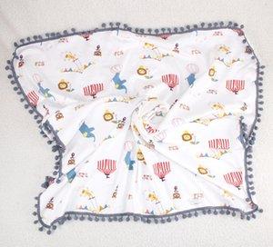 Bébé en coton épais Super Soft Flanelle Couverture du nouveau-né tout-petits minky Couverture bébé Literie Stripped Swaddle Wrap Couvre bulles