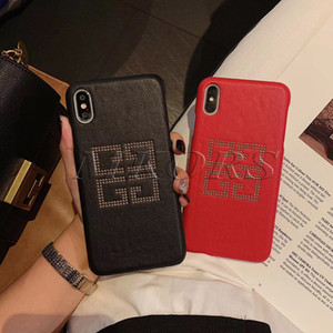2019 Coque Cell Phone Cases 용 iPhone X XS MAX XR 7 8 Plus 가죽 스킨 쉘 케이스 Apple 7plus 8plus 초박형 커버