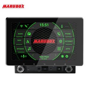 Unidad principal MARUBOX universal 2 din 8 Core Android 9.0, 4 GB, 64 GB, navegación GPS, radio estéreo, Bluetooth, DSP KD8080 DVD del coche
