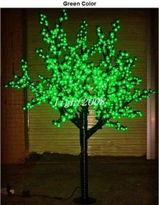 LED Christmas Light Cherry Bloms Tree Light 960pcs LEDs 6ft / 1.8 M الطول 110VAC / 220VAC