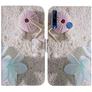 Gel Rubber YLYH TPU silicone Design Proteja Couro tampa do telefone capa para Infinix Hot S4 X622 inteligente 3 Plus X627 Pouch Shell Carteira estojo de pele