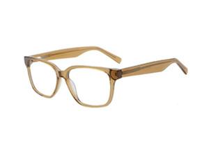 Hommes lunettes rectangulaires de montures optiques de grande taille 56-16-145mm monture de lunettes Brown, cadres noir, bleu, gris optique Acheter pas cher Boutique en ligne