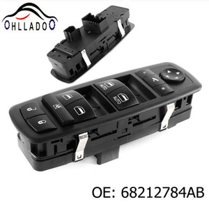 HLLADO High Quality New Front Left Master Power Window Switch 68212784AB For 2013-2016 D odge Ram 1500 2500 3500 Car Accessories