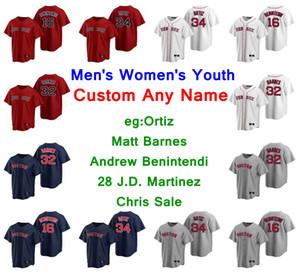 Traje 2020 jerseys de béisbol José Peraza Jersey Jonathan Arauz Josh Osich Taylor Kevin Plawecki Sala de mate cosido personalizado para mujer para hombre de la Juventud