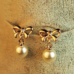 KISSWIFE New Shapeshift stud boucles d'oreilles boucles d'oreilles perles accessoires bow bijoux cadeaux