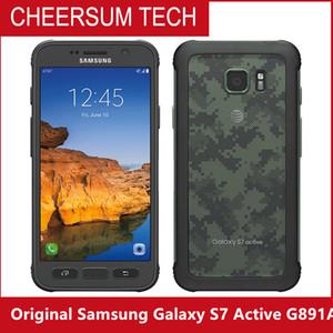 """الأصلي سامسونج غالاكسي S7 نشط G891A 4G الهاتف المحمول الروبوت رباعية النواة 5.1 """"الهاتف المحمول 12MP5MP RAM 4GB ROM 32GB NFC سامسونج"""