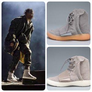 Hot Sale Mens Botas de Inverno Kanye West 750 Designer Shoes 750 Botas Homem Sapatos Lazer Jogging Sports Mulheres botas de alpinismo