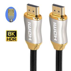 1080P HD 2.1 Кабель высокая скорость 8K 3D 144HZ кабель для Splitter Switch TV LCD ноутбук PS3 Projector компьютерный кабель