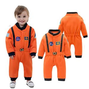 L'astronaute barboteuses Costume Costume Espace pour Bébés garçons Tout-petit bébé Halloween Noël fête d'anniversaire de Cosplay Déguisements