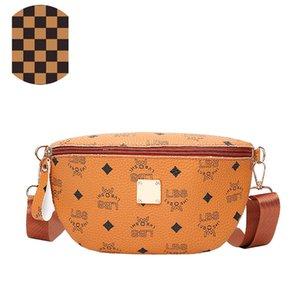 d esigner Сумки женские 2020 новый мини письмо печатных грудь сумка мода талии сумка дикий плечо диагональ крест прилив