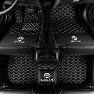 Para Nissan Sentra 2020 del piso del coche tapetes Liner Auto Mat Todas las alfombras de lujo para todas las estaciones alfombra del piso
