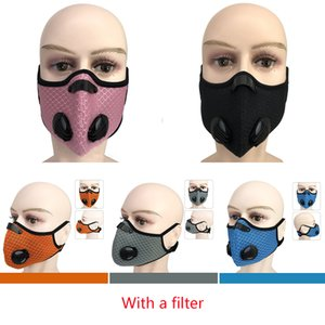 Máscara PM2.5 Outdoor Carvão Ativado Outdoor Sports Windproof Aqueça Dustproof equitação Máscara Máscara de Mountain Bike XD23421