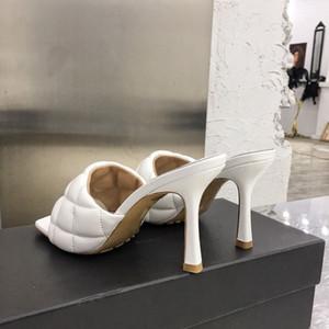 Дизайнер-ED сандалиях NAPPA DREAM дамы Модельер ползунки Женщины Luxury Wedding женщина на высоких каблуках