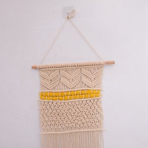 Handmade Макраме Wall Hanging- Woven Арт- Гобелен-Boho Декор Текстиль Висячие Другое Home Decor