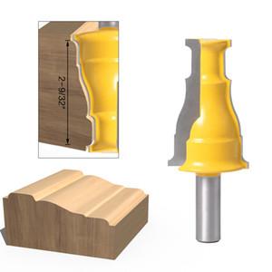 """Tür-Fenster-Gehäuse Fräser - 1/2"""" Schaft 12mm Schaft Linie Messer Holzbearbeitungsschneider Zapfenschneider für Holzbearbeitungsstromschneider Werkzeuge"""