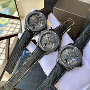 3 Colors Sports Watches with Automatic Movement 41mm 316 Steel Case Nylon Strap