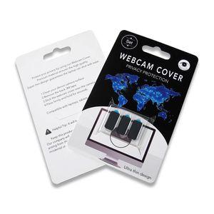 Kişisel gizliliğini korumak için Telefon Ve Laptop için 3 1 Privacy Protector ABS Plastik Webcam Kapak