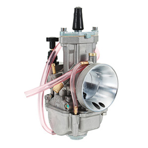 PWK 28mm30mm32mm34mm Motorcycle Racing Motor Carburetor with Power Jet - 28
