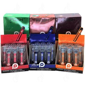 New POSH PLUS Einweg Vape Pen Geräte Kit 280mAh 2,0 ml 500puffs Prefilled Pods Cartridges Aktualisiert Einzelhandel Tragbare e CIGS Zigaretten Vapor