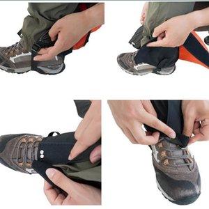 Waterproof Legging polainas de neve Ski Boot Cobertura da Perna Shoe Quick Dry para Outdoor Caminhadas Caça Andando alpinismo