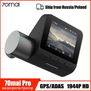 Xiaomi 70mai Dash Cam Pro Smart-Auto-DVR 1944P-Schlag-Kamera Wifi Nachtsicht G-Sensor 140 Weitwinkel Auto Video Recorder