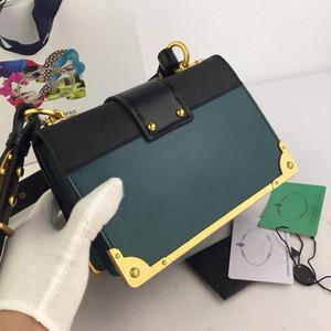 Frauen Designer-Handtaschen Paa Luxus diagonale Messenger Umhängetasche hochwertigen echter Rindsleder tote Kupplung Kettenbeutel 2019 fahsion