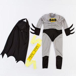Costumi All'ingrosso-caldo di vendita del ragazzo del bambino muscolare DC Comic Movie carattere vestito operato da Cosplay Halloween Carnival Party