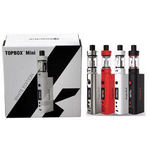 Kanger Topbox Mini Starter Kit 4 Cores 75 W Tobox Mini TC Mod com Top Fill Totank Mini Tanque Atomizador Cigarros Eletrônicos Qualidade DHL EC022