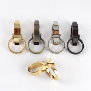 Meetee 25mm Sacs métal Bracelet Buckles mousqueton bricolage collier de chien Clip Mousqueton porte-clés matériel bagages accessoires