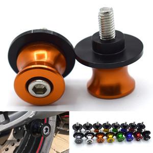 Para accesorios de motocicleta de 6/8 mm Deslizadores de brazo oscilante Carretes Tornillo de soporte para kawasaki ZZR1400 ZZR 1400 ZZR / ZX1400