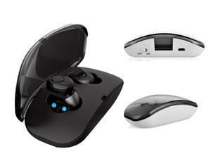 X18S TWS auriculares sem fio X18 Bluetooth 5.0 auscultadores do esporte fones de ouvido Handsfree Headsets para o smartphone PK A6 T18S i12