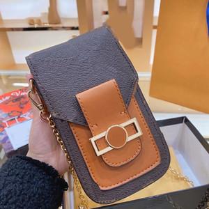 créateur de luxe sac à main L fleur sac à bandoulière épaule de chaîne de motif sac étui de téléphone dames concepteur de femmes de sac de sacs à main