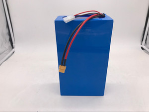 Free Customs Duty 3000W 60V 20AH Ebike Lithium Battery 60V 20AH Electric Bicycle Battery use Panasonic 2900MAH cell 50A BMS