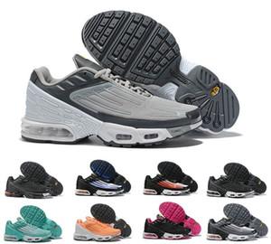 2020 Nouveaux Nike Air max Mercurial TN Plus III 3 Tn Chaussures de course chaussures Triple Noir White Plus TN Hommes Femmes Baskets sport Chaussures de sport 36-45