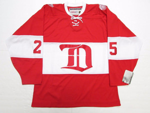 Cheap personalizzati Darren McCarty Detroit Red Wings VINTAGE CCM hockey jersey Mens maglie cuciture personalizzato