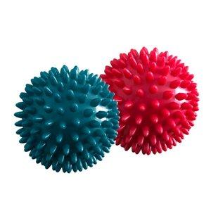8.5cm Kas gevşemesi Pelvis Egzersiz Spor Spor Ayak Masajı Topu Kirpi Vücut Ağrı Stres Masaj Giderici Tetik Nokta