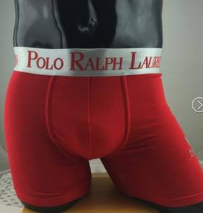 100% algodón mezcla 5pcs atractivo de la marca de los hombres marca de ropa interior de algodón para hombres Cueca boxeador de los hombres de los calzoncillos Homme bolsa boxeadores Underware gran tamaño M-XXL