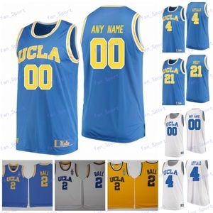 Mens personnalisé NCAA UCLA Bruins College Basketball Jersey Aaron Holiday Joylen Mains Kris Wilkes Thomas Welsh Jacob Foster UCLA Bruins Jerseys