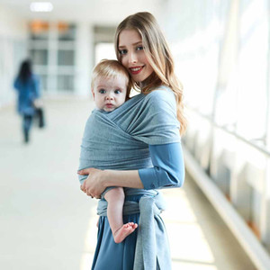 Baby Fashion Safety Mother Outdoor Babys Gear Sling Sling Neonato Stretchy Wrap Ragazzi Ragazze Unisexs Hipseat Zaino Abbigliamento infantile